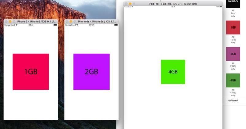 Xcode hack confirms 2GB RAM on iPhone 6s, 4GB on iPad Pro