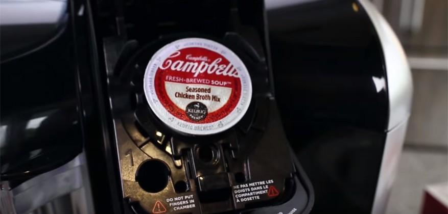 Keurig teams with Campbell's to offer soup in a pod