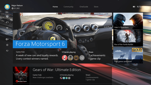New Xbox One Experience preview goes out to some testers