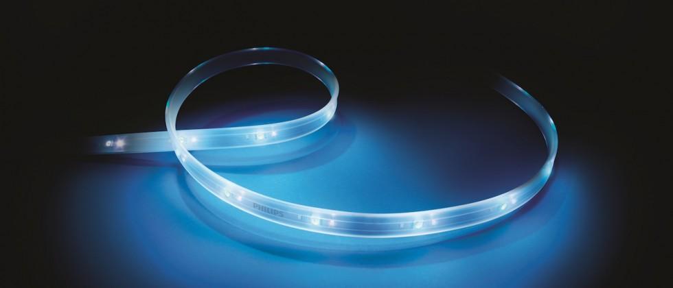Philips Lightstrip Plus flexes brighter, bendier LED strips