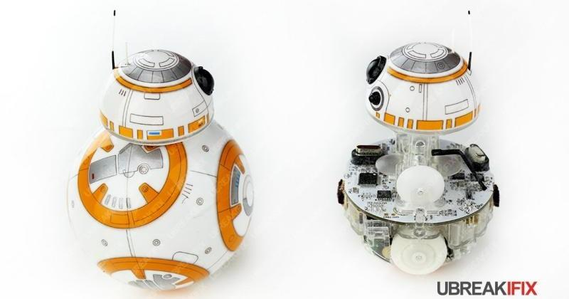 Poor baby BB-8 already gets a gruesome teardown