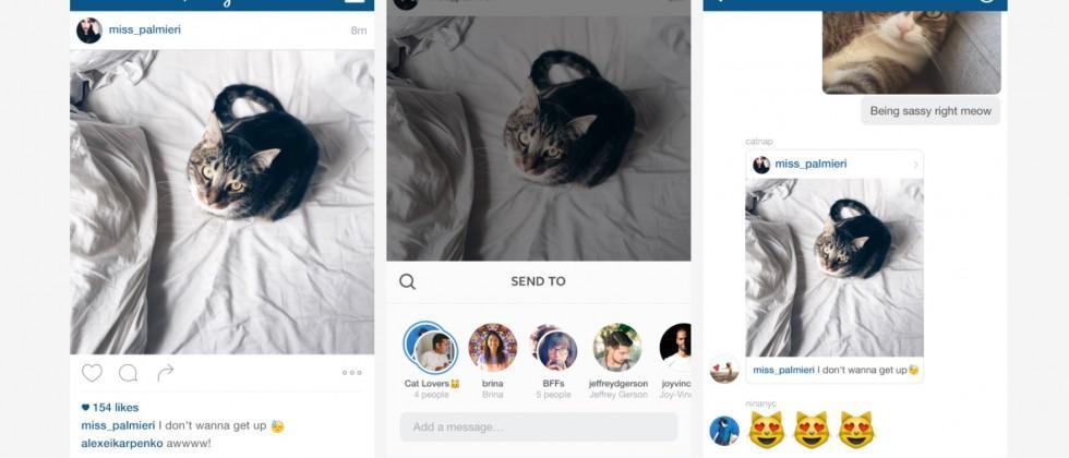 Instagram Direct upgrades to corner messaging market