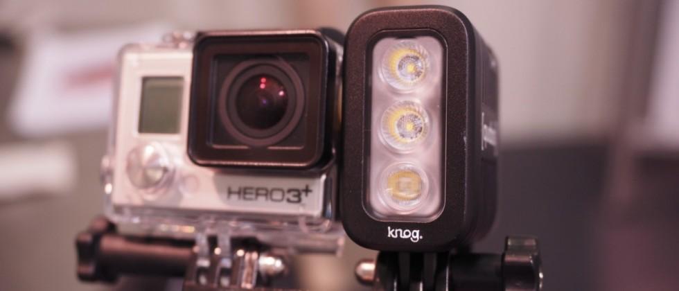 Knog Qudos hands-on: lights for GoPro at night