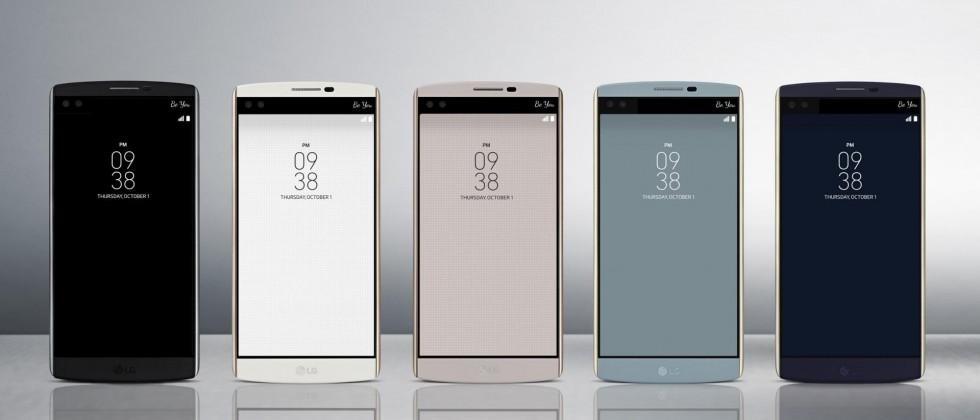 LG V10 touts Second Screen, dual front cams, manual video mode