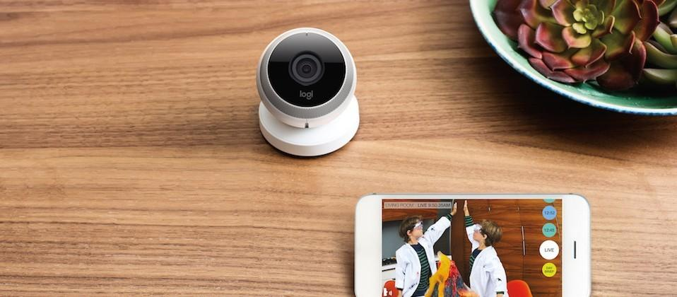 Logitech Circle is a portable home-monitoring camera