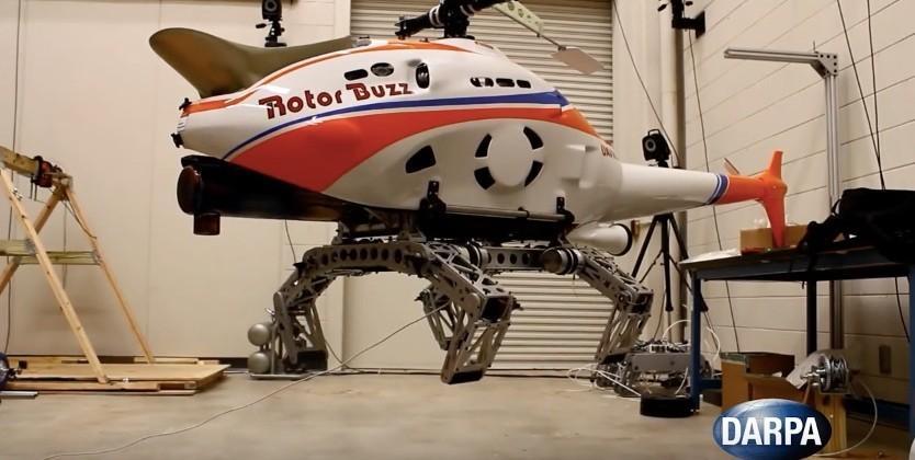 DARPA's robo-chopper legs sneer at your helipad