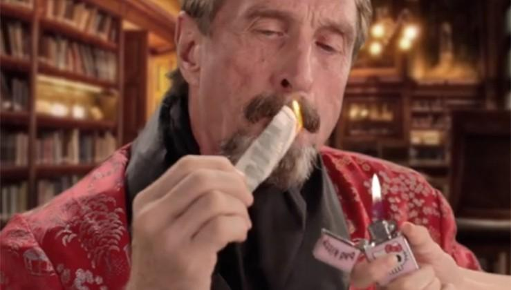 John McAfee contemplating run for presidency