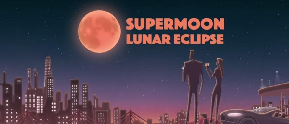 Here's how to watch Sunday's Supermoon Eclipse