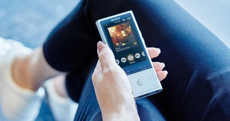 Sony Walkman NW-ZX100HN enhances even compressed MP3 audio