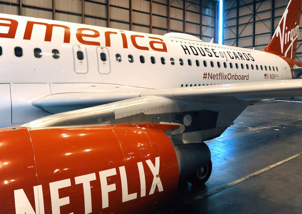 Netflix, Virgin America partner to bring quality WiFi, streaming to the skies