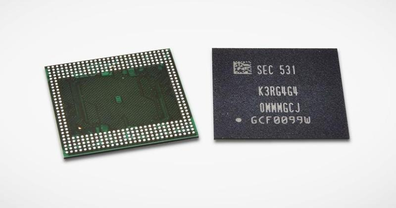 Samsung's new 12 Gigabit LPDDR4 paves the way for 6 GB RAM on smartphones