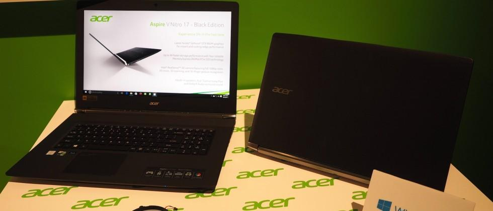 Acer Predator gaming line expands: tablet, notebooks, desktop gaming
