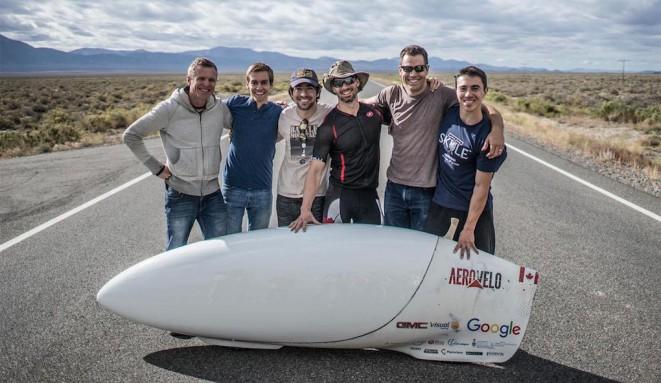 85mph speedbike sets human-powered vehicle speed record