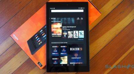 Amazon Fire HD 10 tablet gallery