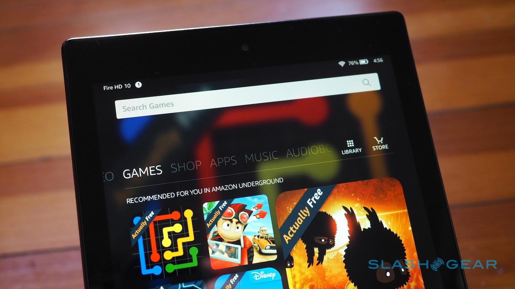 Amazon Fire HD 10 tablet gallery - SlashGear
