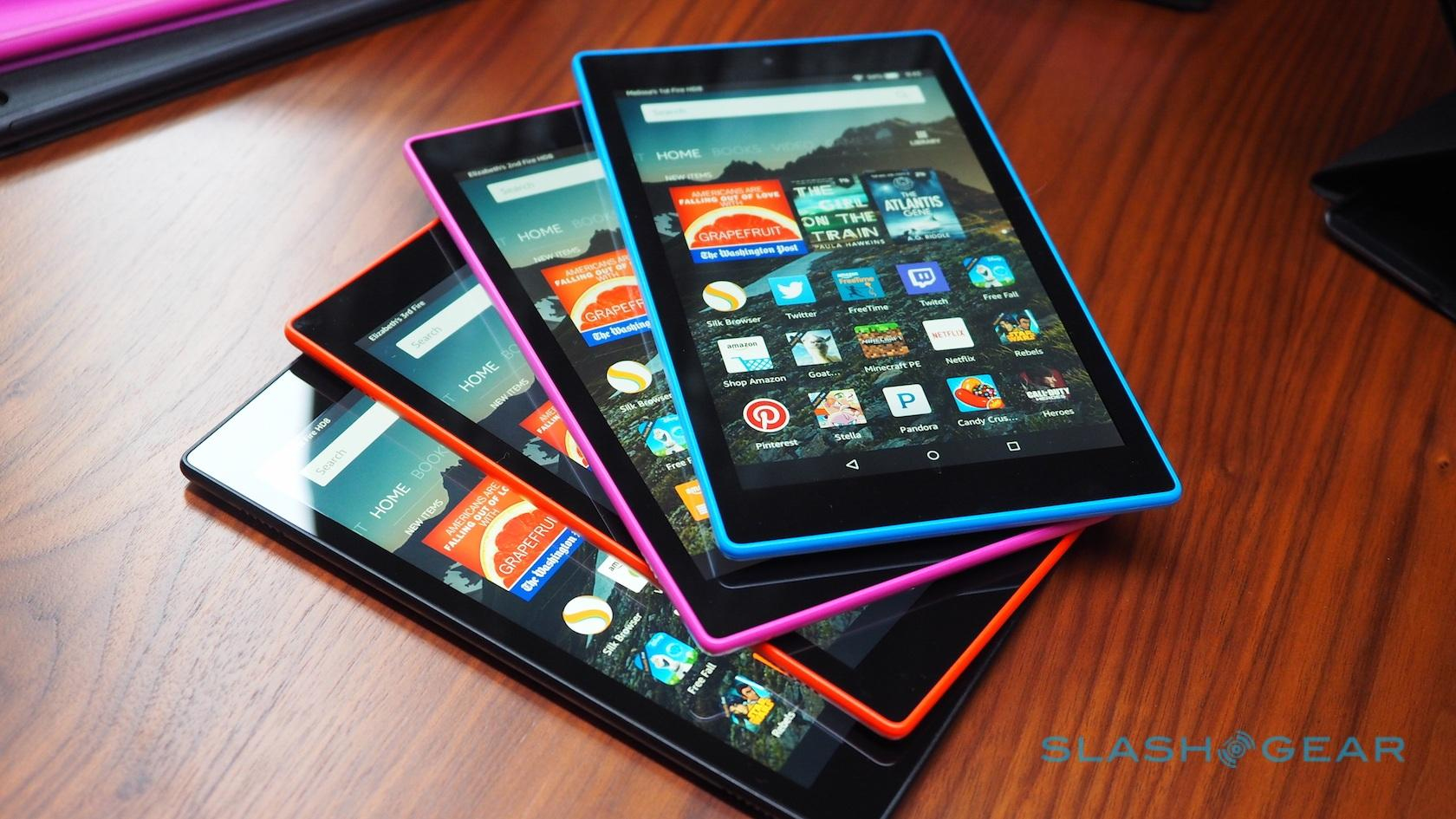 New Amazon Fire HD tablets put power and Prime first: Hands