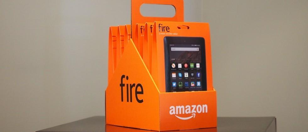 Amazon is selling a six-pack of tablets and it's not sure why