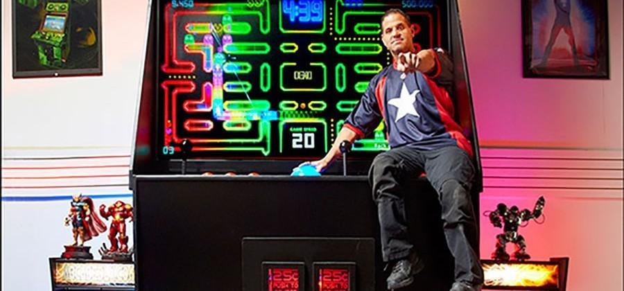 Gigantic arcade machine lands Guinness World Record