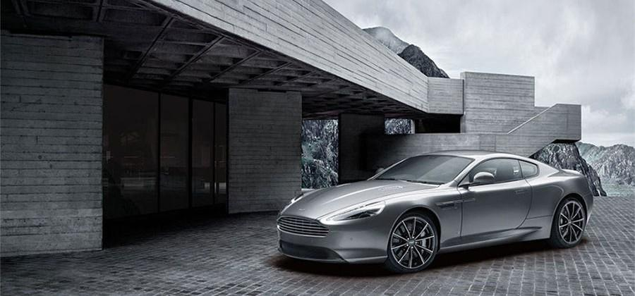 Aston Martin DB9 GT Bond Edition includes custom luggage and a watch