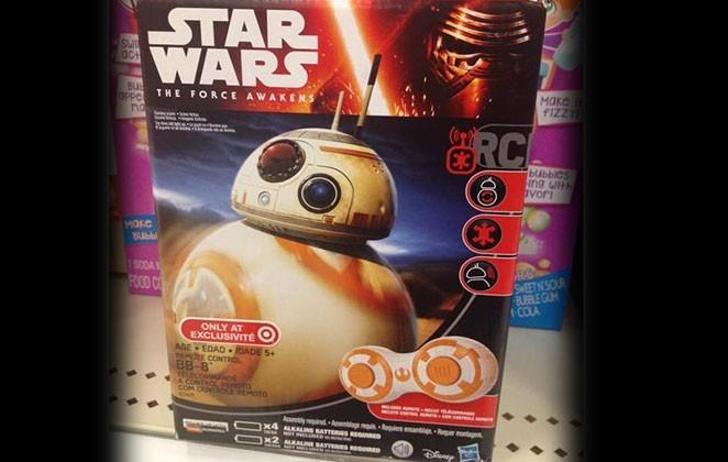 "There's a cheaper BB-8 ""drone"" too, from Hasbro"
