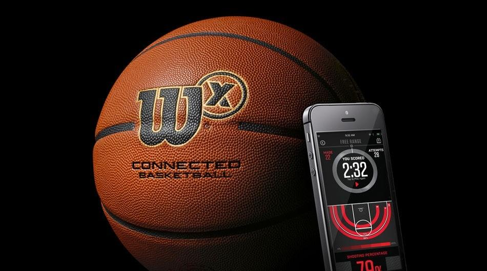 Wilson has a smart basketball that know when you score