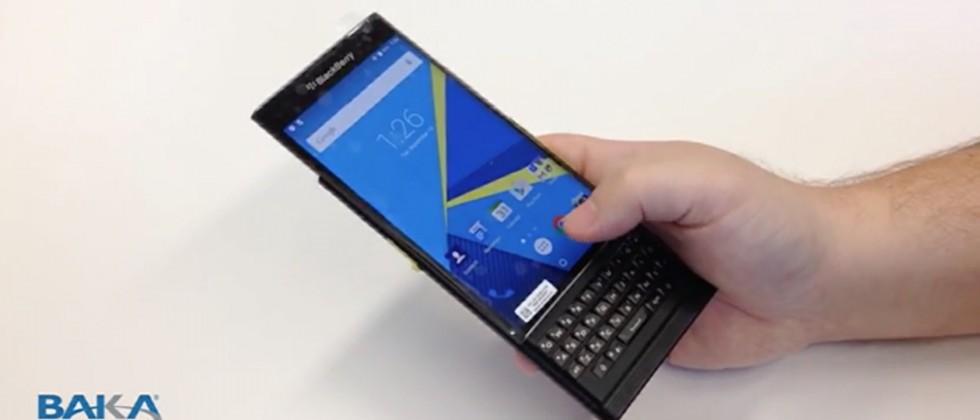 BlackBerry Venice QWERTY phone leak shows potential Android gem