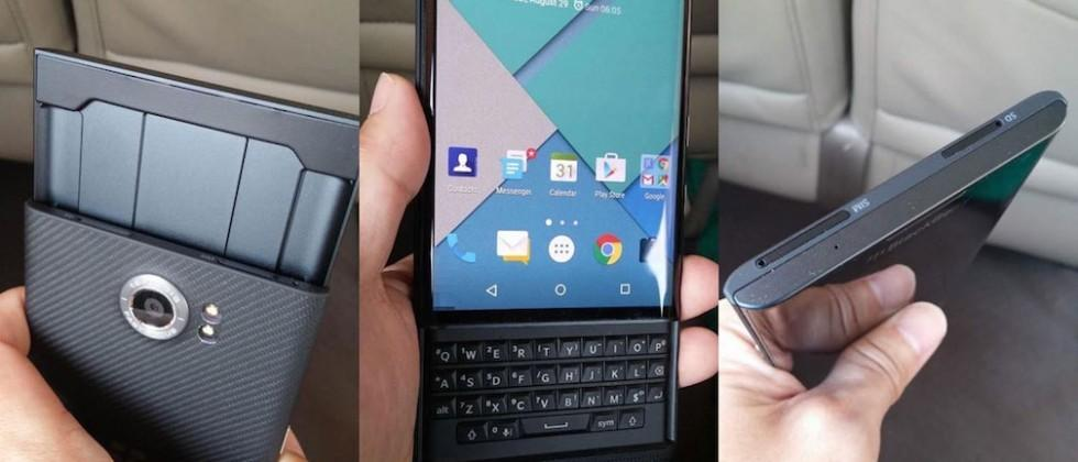 BlackBerry Priv confirmed, Android-powered phone will debut this year