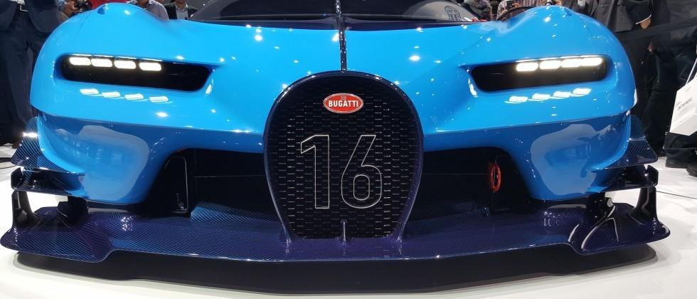 Bugatti's Vision Gran Turismo is insane in real-life [Gallery]