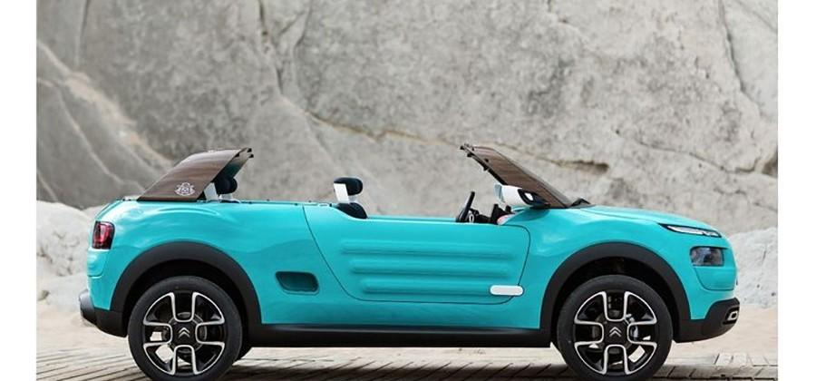 Citroen Cactus M Concept is ready for the beach