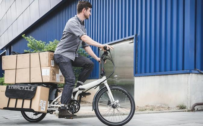 Cargo Node folding bicycle is a modern day pack horse