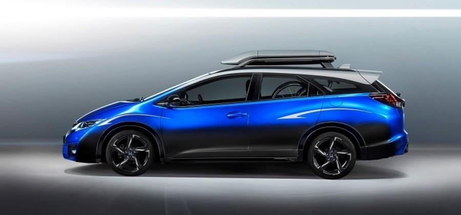 Honda Civic Tourer >> Honda Civic Tourer Active Life Concept Is Crammed Full Of