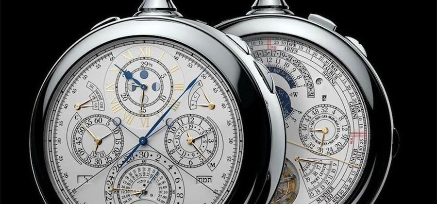 Vacheron Constantin Reference 57260 pocket watch has 57 complications