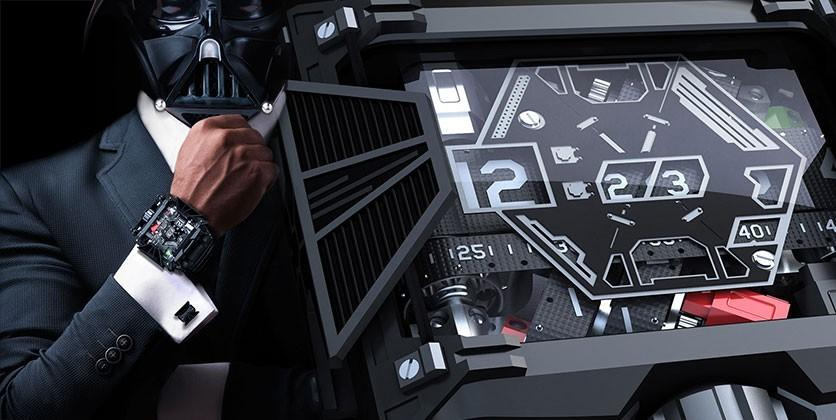 This is Devon's $28,500 Star Wars watch