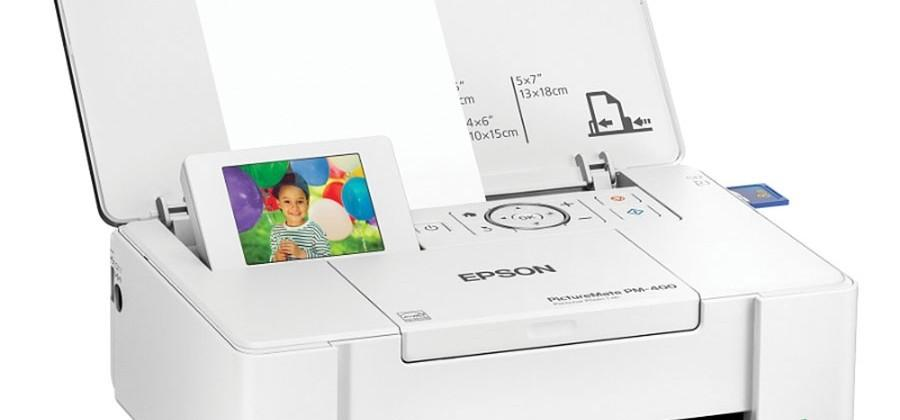 Epson PM-400 personal photo lab is small and wireless