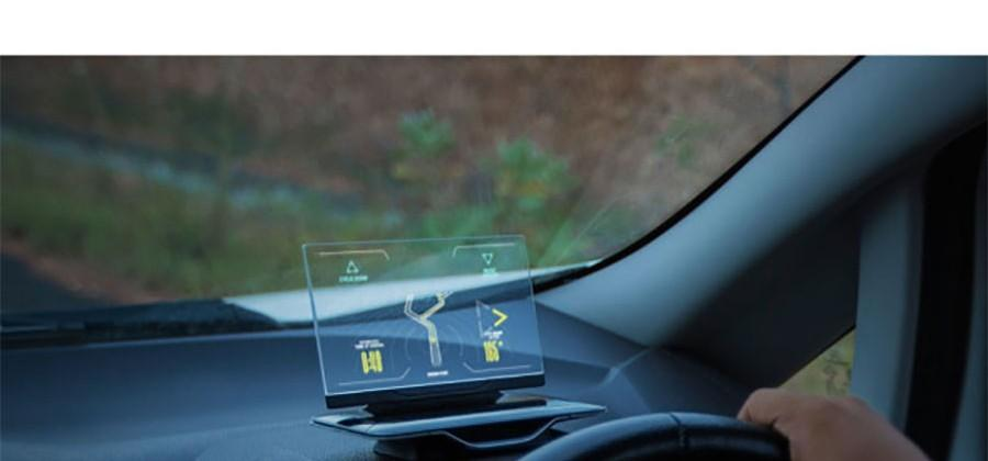 Exploride heads up display makes your car smart