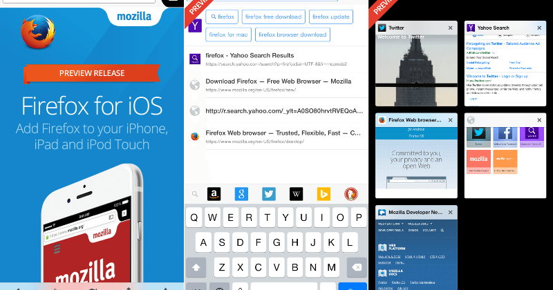 Firefox for iOS preview rolls out in New Zealand