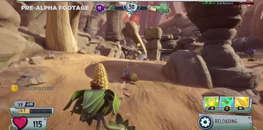 Plants vs Zombies: Garden Warfare 2 — new character classes demo'd