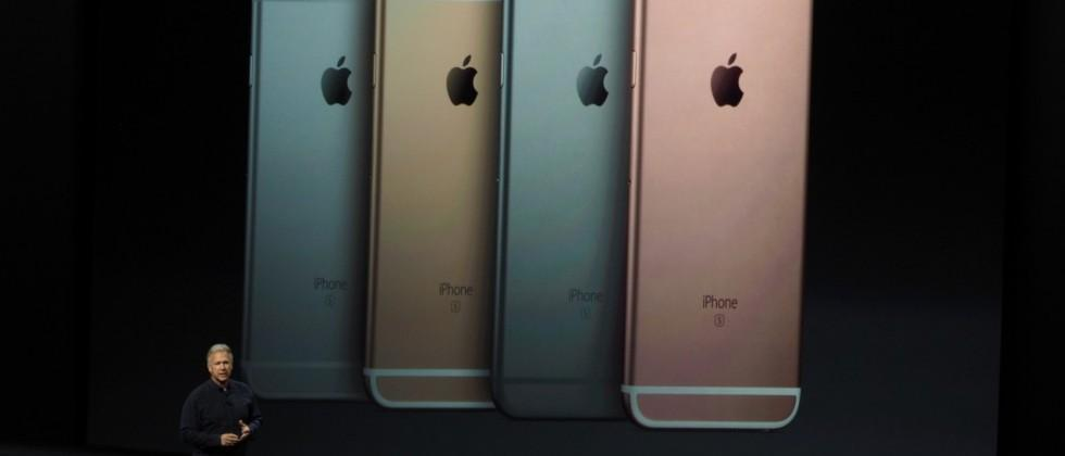 You can now get a rose gold iPhone 6s