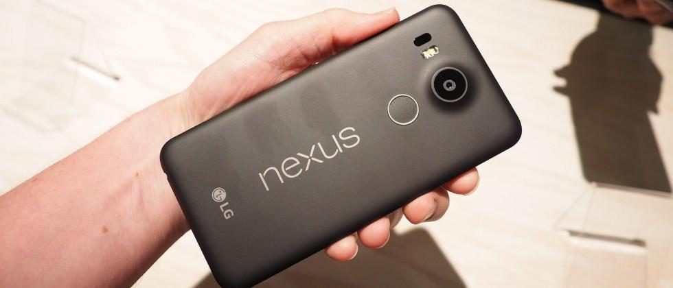 Nexus 5X hands-on: all-around contender