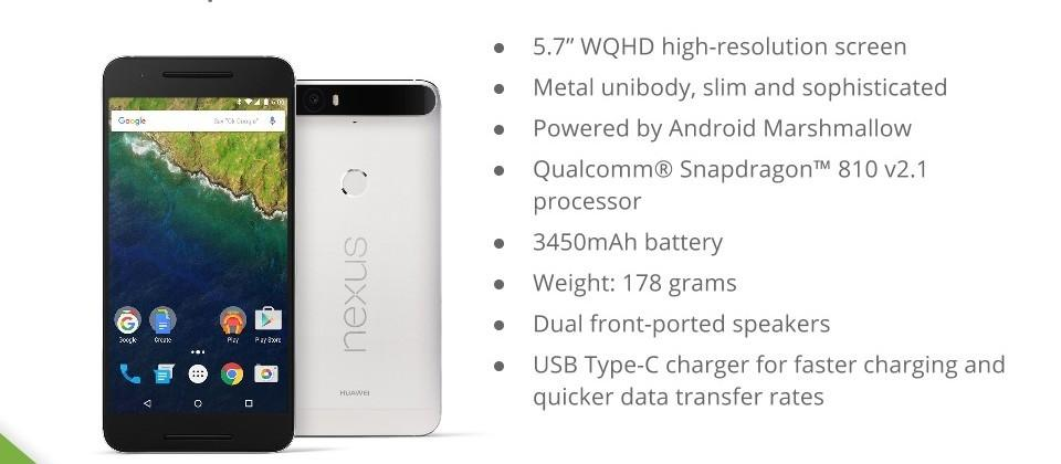 Nexus 6P fully-detailed ahead of Google's big Tuesday reveal