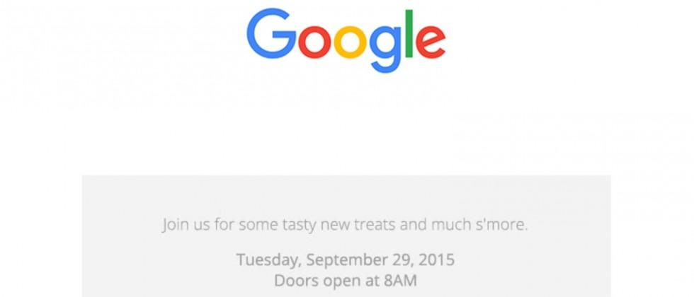 Google September 29th event confirmed: New Nexus incoming