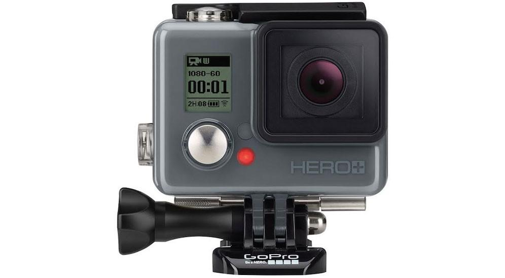 GoPro Hero+ debuts with WiFi and a low price