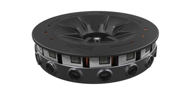 GoPro Odyssey is a 16-camera VR rig priced at $15k