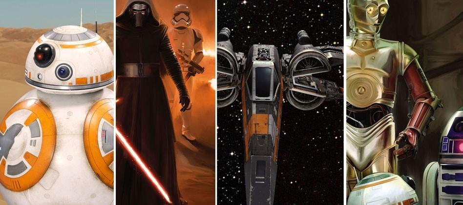 Latest Star Wars The Force Awakens photos show tiniest details