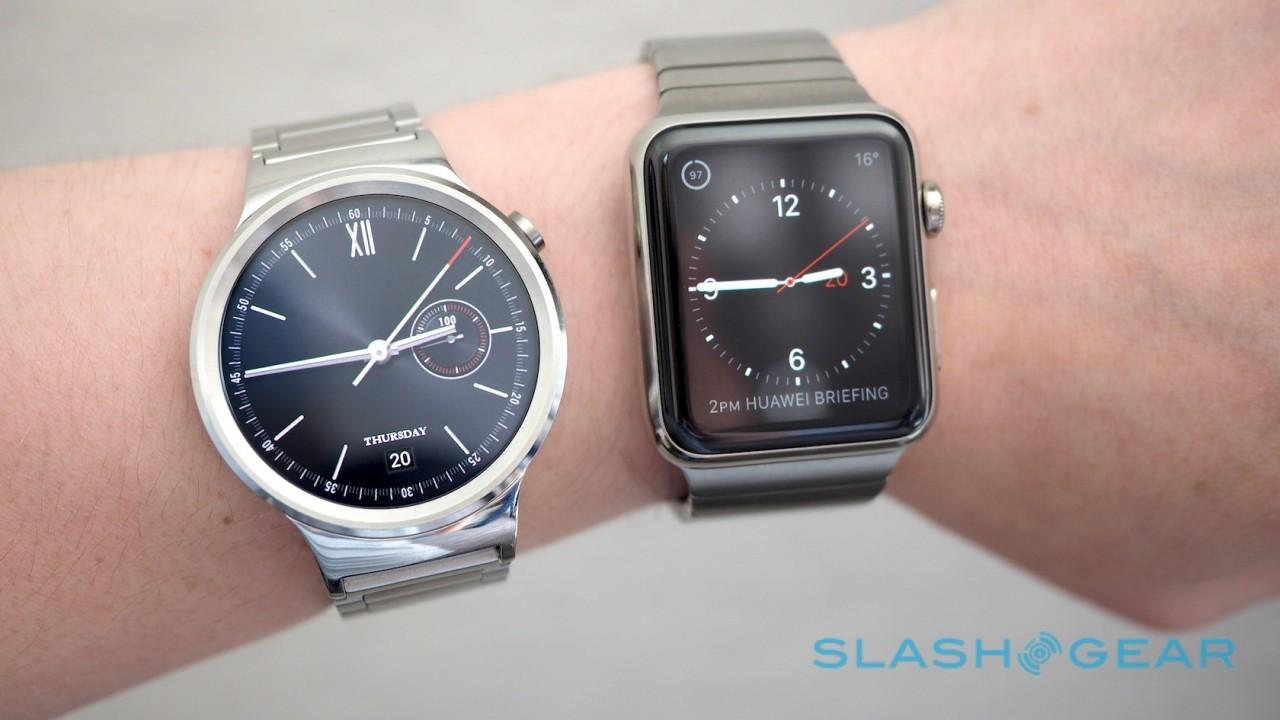 Huawei Watch vs Apple Watch