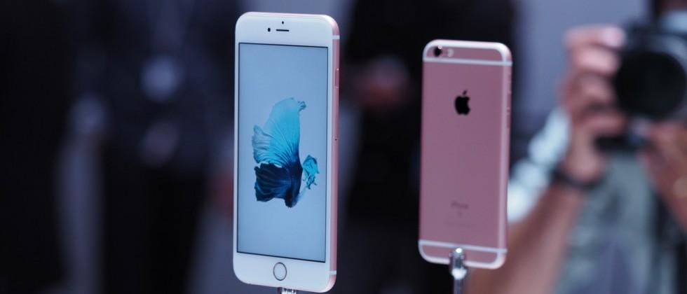 13m iPhone 6s sales set Apple new launch record