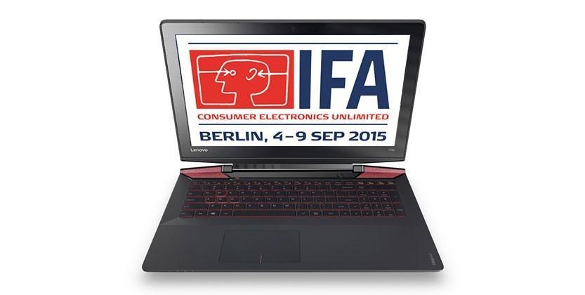 IFA 2015 Day 1: Skylake, circular smartwatches & crazy gaming