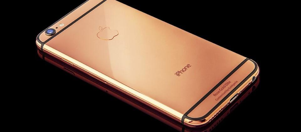 This iPhone 6s is real rose gold