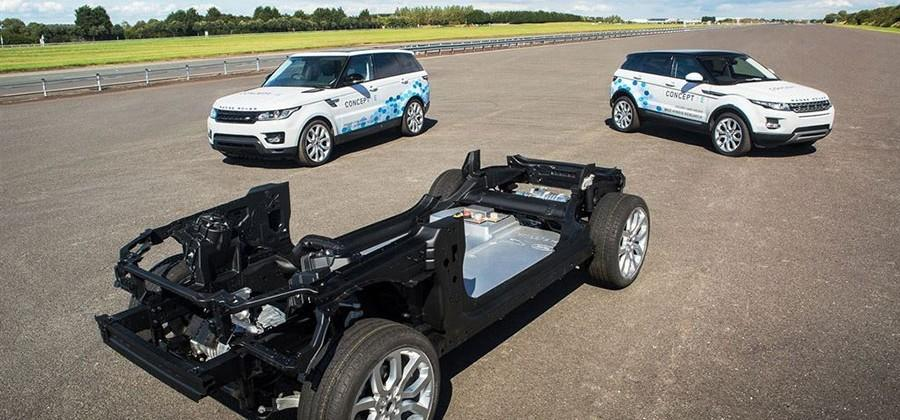 Jaguar Land Rover researching electric Drive Module tech for future EVs, hybrids