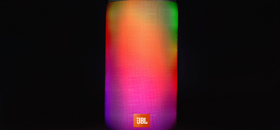 JBL Pulse 2 packs a splashproof lightshow to go with your tunes